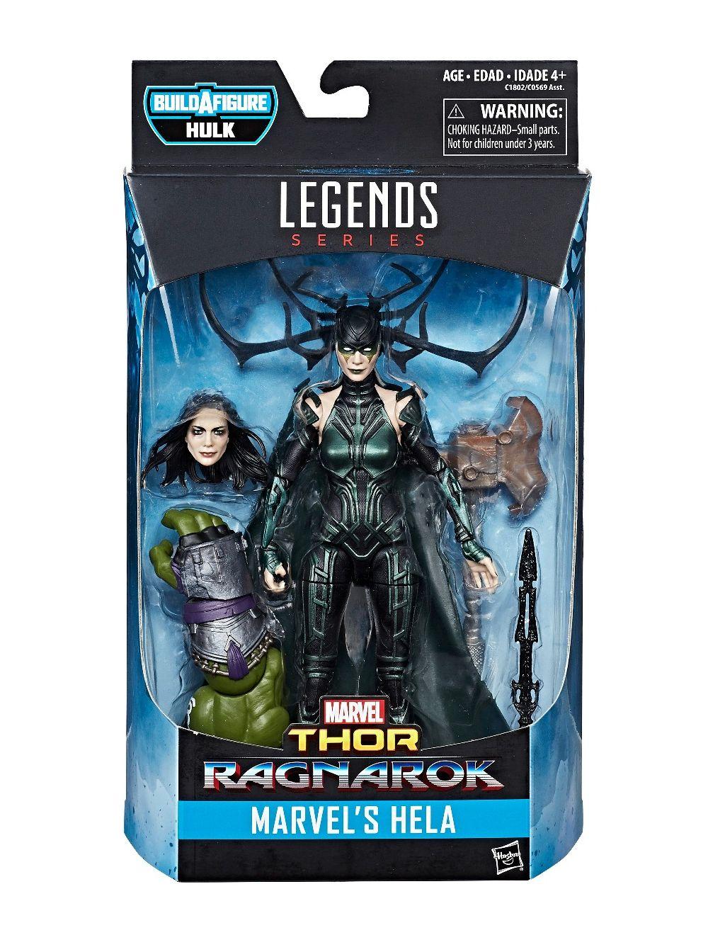 Marvel Legends Series Ragnarok Marvel/'s Hela Baf Hulk