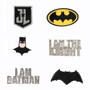 Justice League : Batman Enamel Pin Set