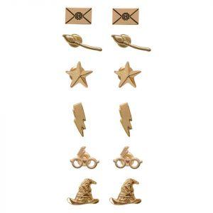 Harry Potter : Broomstick Earrings (Set Of 6)