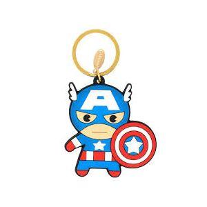 Avengers Captain America Rubber Keychain