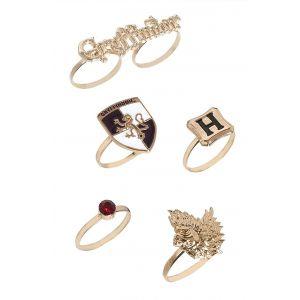 Harry Potter : Gryffindor Ring Set