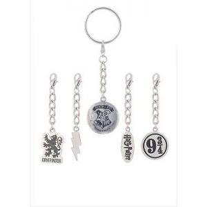 Harry Potter : Multi Charm Keychain (Changeable)