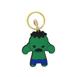 Avengers Hulk Rubber Keychain