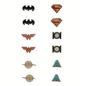 Justice League : Earring Set of 6