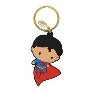 Justice League : Superman Rubber Keychain