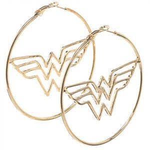 Justice League : Wonder Woman Hoop Earrings