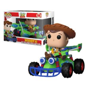 Woody With RC Toy Story Funko Pop! Vinyl Figure #56